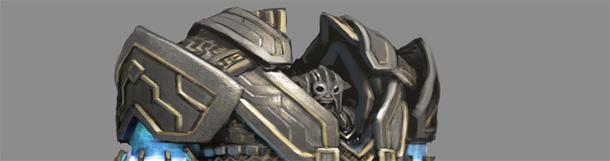 Kovinio asura kostiumo smulkmenos Guild Wars 2.