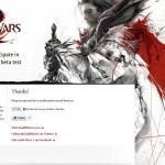 Registracija į Beta Įvykį žaidime Guild Wars 2!