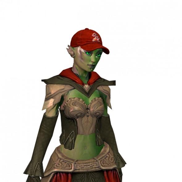 Nemokama šventinė Guild Wars 2 kepuraitė