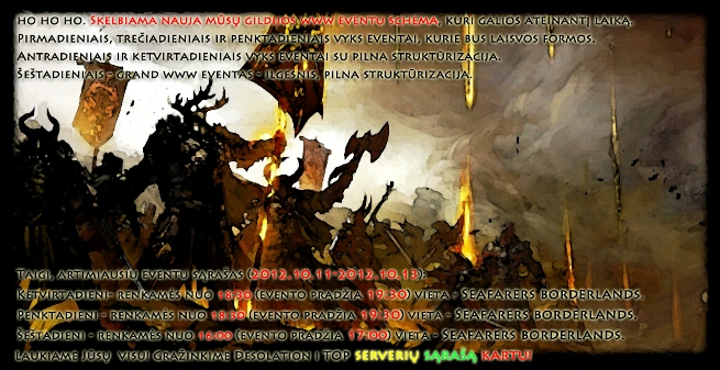 Gildija Evil Squad skelbia karą