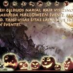 Rytoj Helovino pradžia