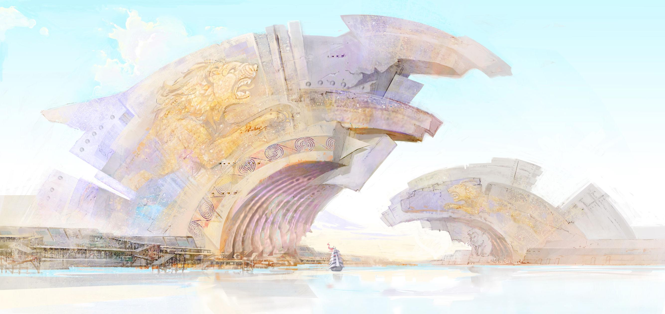 Lion's Arch beveik užbaigtas; Naujo žaidėjų balsavimo ananasas