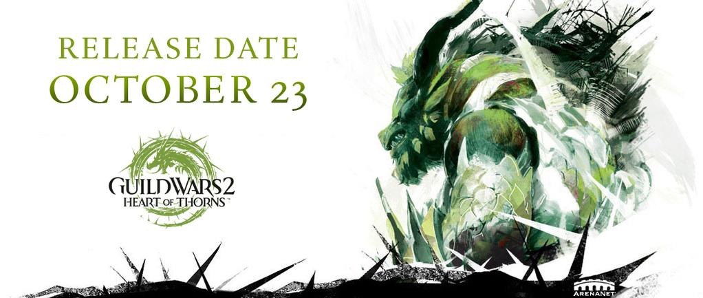 Guild Wars 2 – Heart of Thorns jau greitai!!!