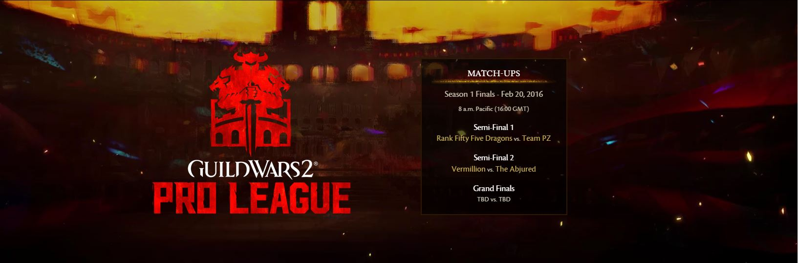 Guild Wars 2 Pro League vasario 20 d.