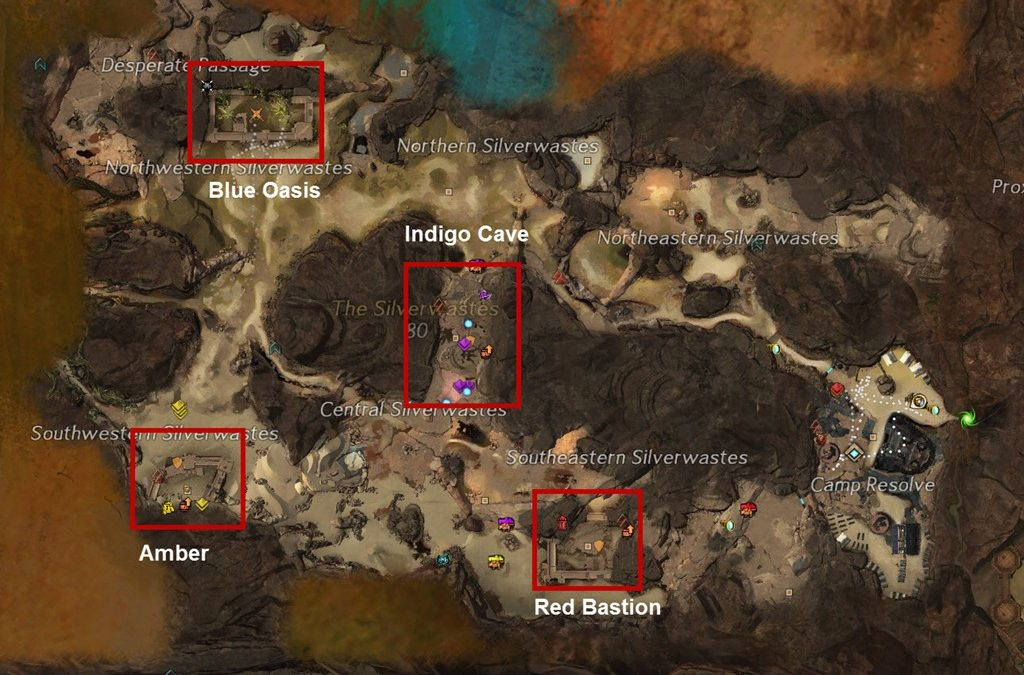 The Silverwastes Achievements gidas